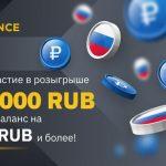 Биржа Binance разыгрывает 700 000 рублей специально для пользователей из России
